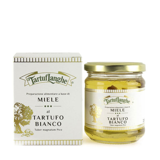 Tartuflanghe Acacia Honey with White Truffle, Large, 8.1 oz (230 g)