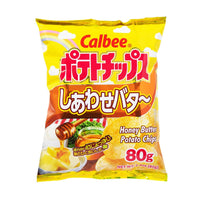 Calbee Honey Butter Potato Chips, 2.8 oz (79.3787 g)