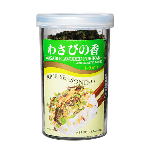 Ajishima Rice Seasoning Wasabi Furikake, 1.7 oz (48.1942 g)