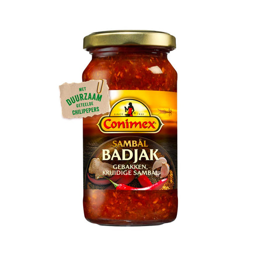 Conimex Sambal Badjak Chili Paste, 6 oz (170 g)