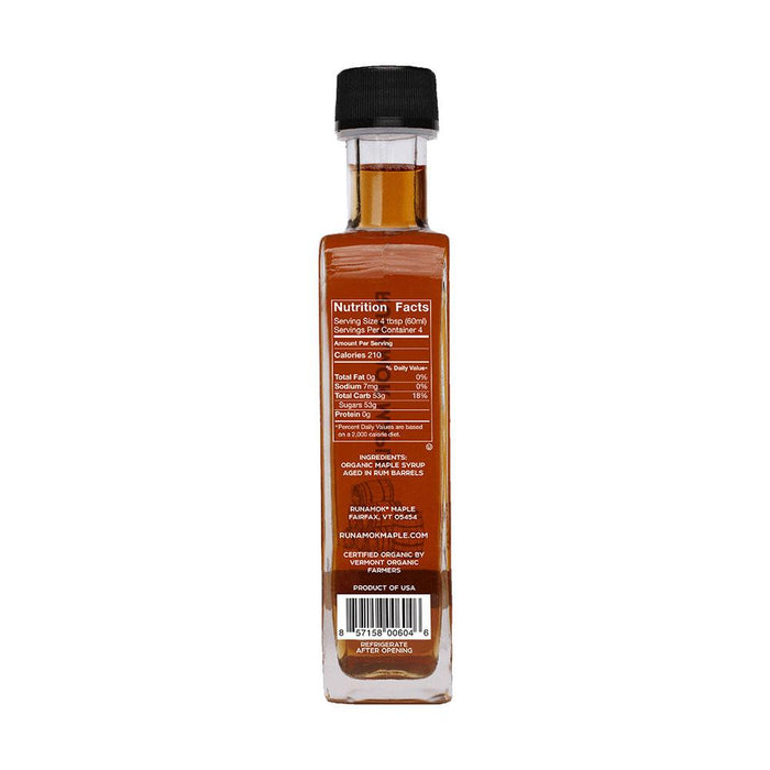 Runamok Maple Rum Barrel-Aged Maple Syrup, 8.45 fl (250 g)