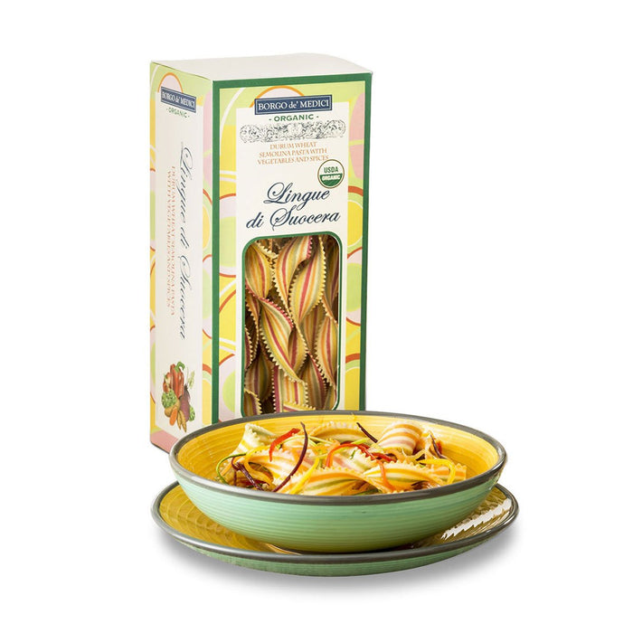 "Borgo de Medici Organic ""Mother in Law's Tongue"" Lingue di Suocera Pasta, 8.8 oz (250 g)"