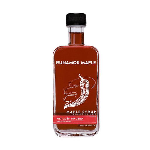 Runamok Maple Smoked Chili Pepper Infused Maple Syrup, 8.45 fl (250 g)