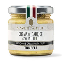 Savini Tartufi Artichoke Cream with Truffles, 6.4 oz (180 g)