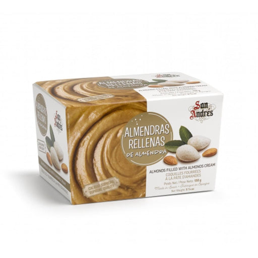 San Andres Almond Wafer Filled with Almond Cream, 5.3 oz (150 g)