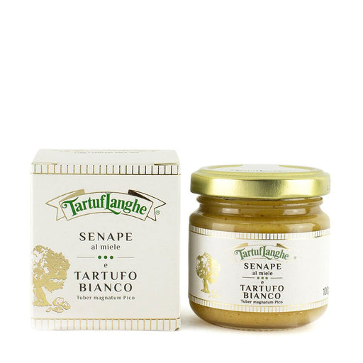 Tartuflanghe Mustard with Honey and White Truffle, 3.5 oz (100 g)