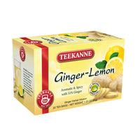 Teekanne Ginger Lemon Tea, 20 Ct, 1.2 oz (35 g)