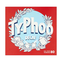 Typhoo Tea Typhoo Decaf Tea 80 Tea Bags, 8.2 oz (232 g)