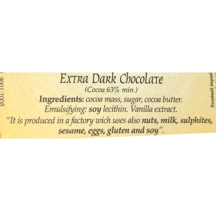 Colavolpe Dark Chocolate Easter Egg, 12.35 oz (350g)