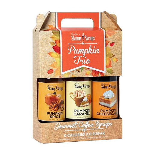 Pumpkin Syrup Trio by Jordan's Skinny Mixes, 12.7 fl oz (376 ml)