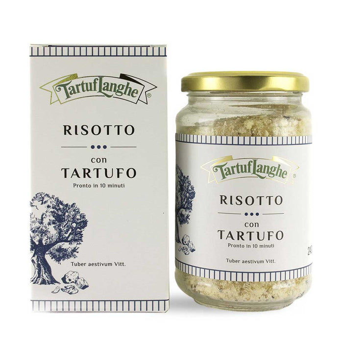 Tartuflanghe Ready Risotto Rice with Truffle, 8.5 oz (240 g)