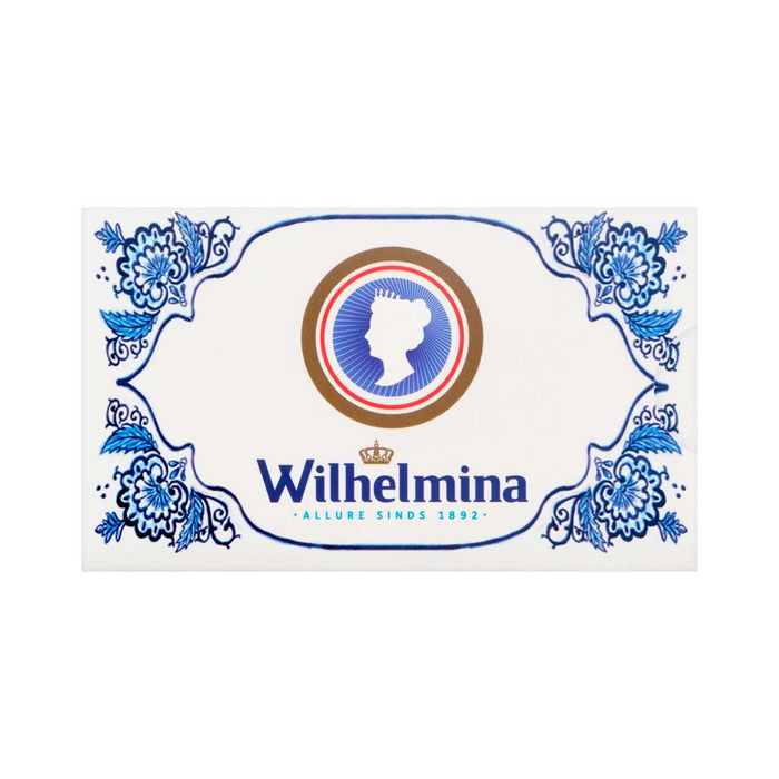 Wilhelmina Peppermint Delfts Blue Gift Box, 1.1 lb (0.498 kg)
