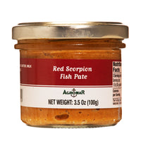 Agromar Spanish Red Scorpion Fish Pate, 3.5 oz (100 g)
