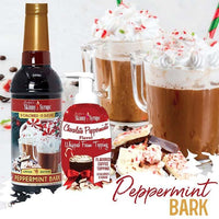 Sugar Free Peppermint Bark Syrup by Jordan's Skinny Mixes, 25.4 fl oz (750 ml)