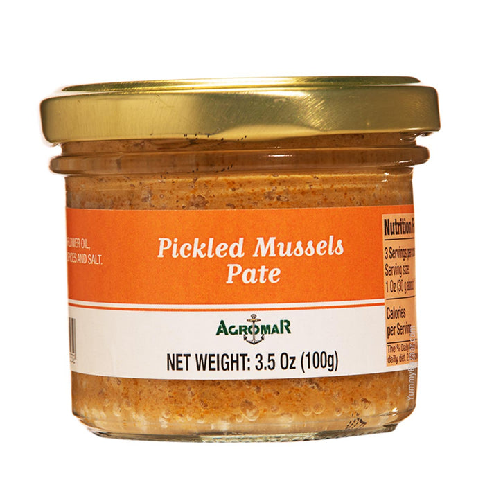 Agromar Spanish Pickled Mussel Pate, 3.5 oz (100 g)