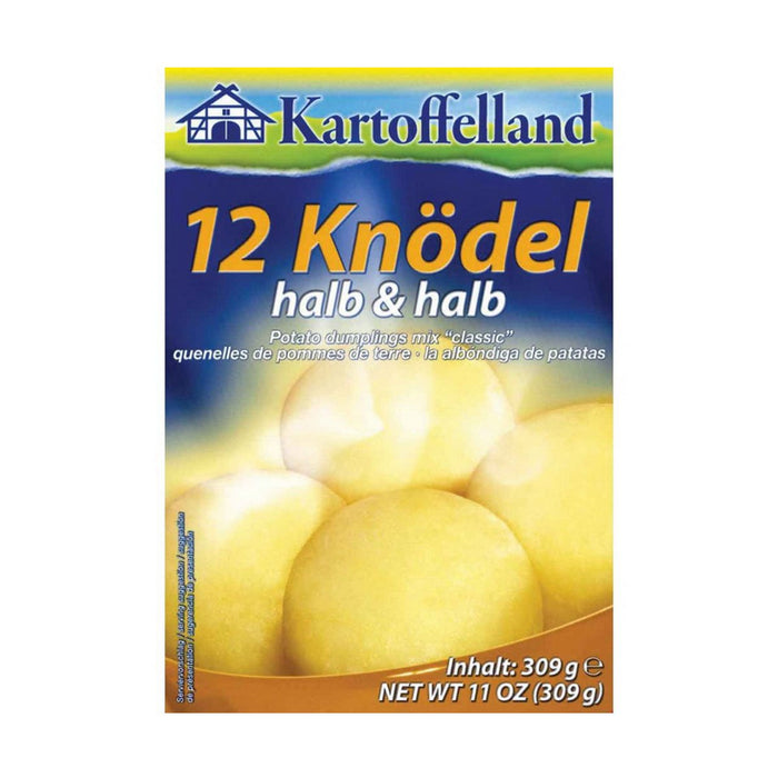 Kartoffelland 12 Half and Half Dumplings, 10.8 oz (306 g)