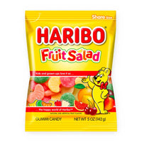 Haribo Fruit Salad Gummi Candy, 5 oz (142 g)