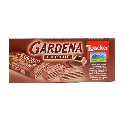 25 Loacker Gardena Chocolate Wafers, 25 x 1.34 oz (25 x 38g = 950 g)