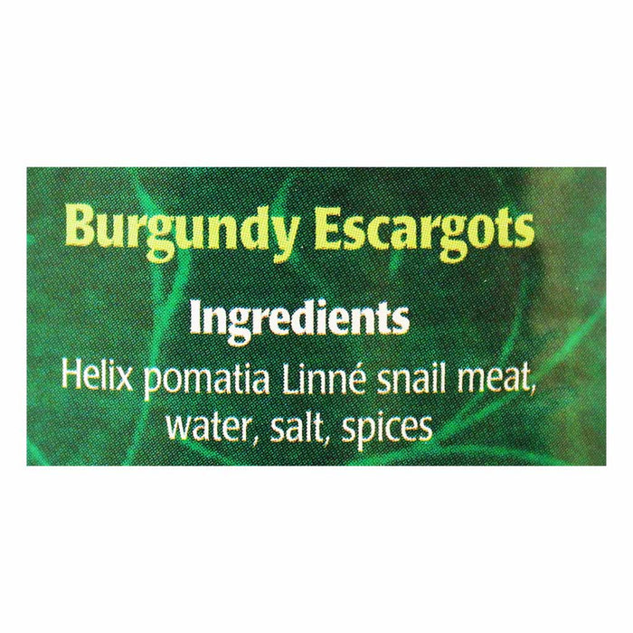 Escal Burgundy Escargots Snails, 3 Dozen 8.8 oz. (249g)