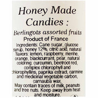 French Honey Candies Berlingot by L'Abeille Diligente, 6 oz. (170g)