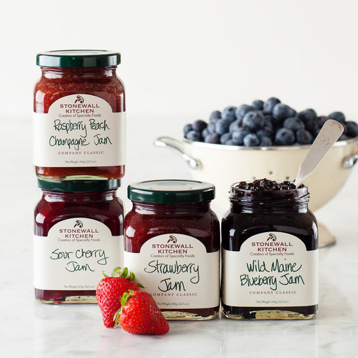 Free Shipping | 4-Pack Stonewall Kitchen Jam Collection
