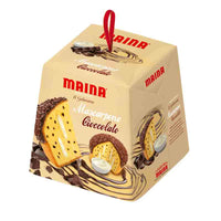 Maina Mascarpone Cream and Chocolate Chip Panettone, 26.45 oz (750g)