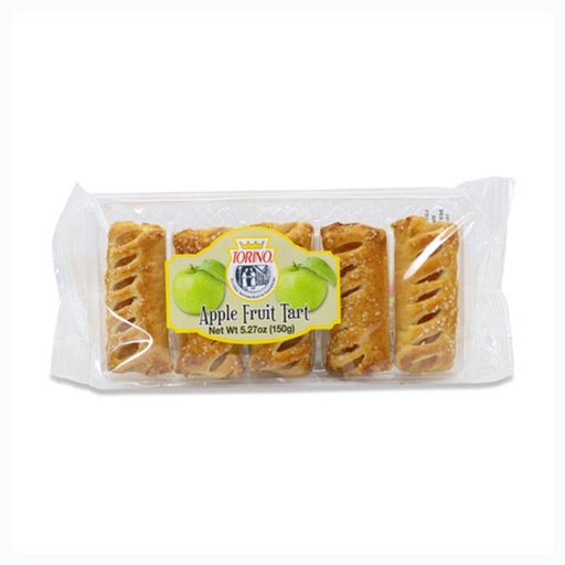Italian Apple Tarts in Flaky Puff Pastry by Torino, 5.27 oz (150g)