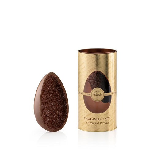 Venchi Gourmet Chocaviar Milk Chocolate Easter Egg, 12oz (340g)