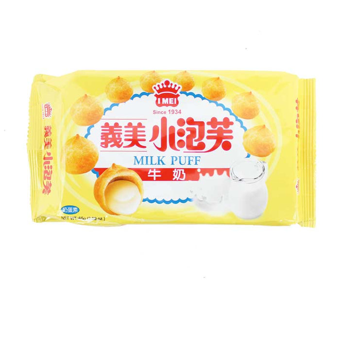 I Mei Milk Cream Puffs, 2.3 oz (65g)