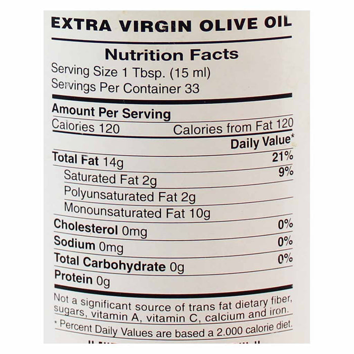 Barral Extra Virgin Olive Oil 16.9 fl. oz. (0.5 L)