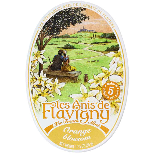 Anis de Flavigny Orange Blossom Pastilles Tin 1.7 oz. (50 g)