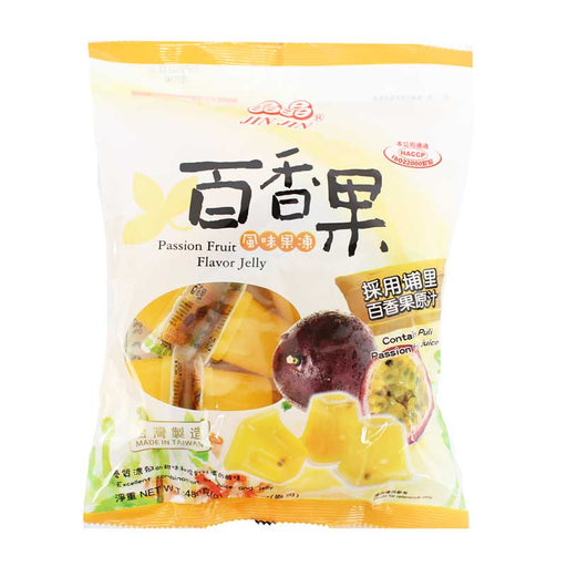 Passion Fruit Jelly Cups by Jin Jin, 16.9 oz (480g)