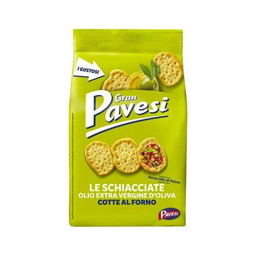 Pavesi Crackers with Extra Virgin Olive Oil, 6.3 oz (180 g)