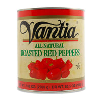 Vantia Roasted Red Peppers, 102 oz (2.9 kg)
