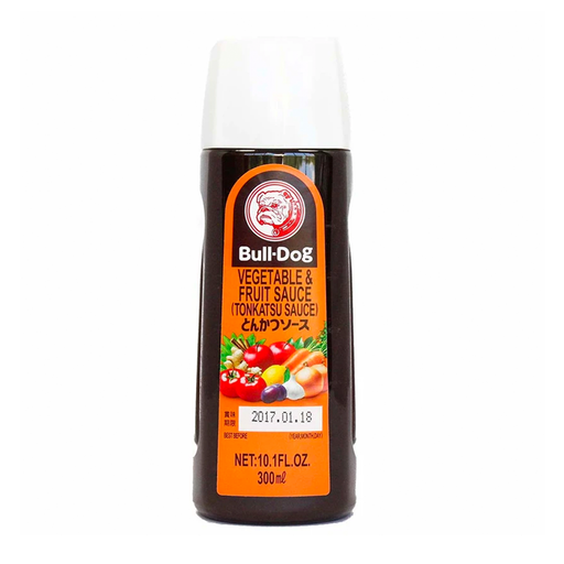 Bull-Dog Vegetable and Fruit Tonkatsu Sauce, 10 oz (300 ml)