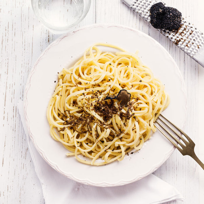 Truffle Pasta with Cheese Linguine