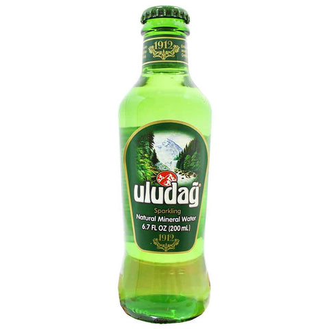 Uludag Sparkling Natural Mineral Water 6.7 fl. oz. (200 mL)