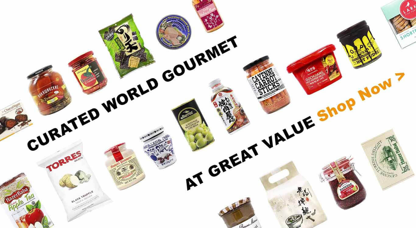 Curated World Gourmet at Great Value
