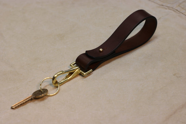 Keychain | 25mm | Bridle Leather