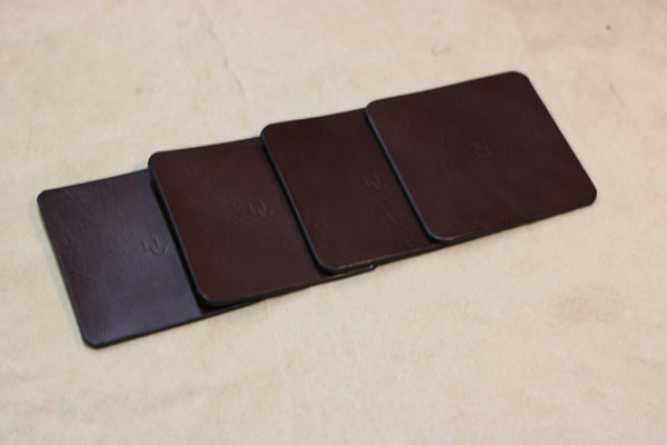 Coasters | Veg-Tan Leather