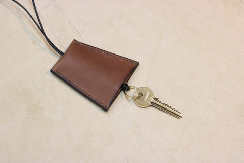 Key Fob | Saddle leather