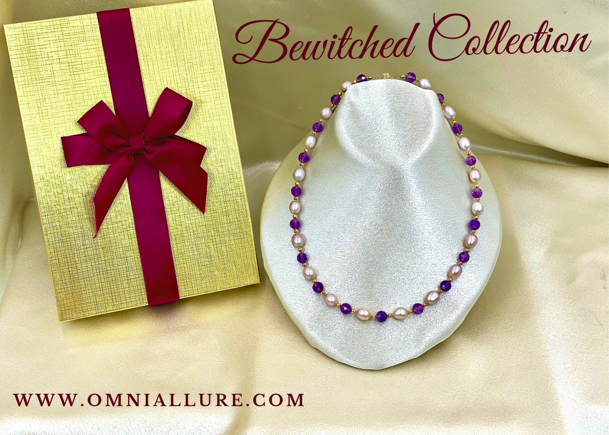 Handmade Freshwater Pearl Necklace - Omni Allure