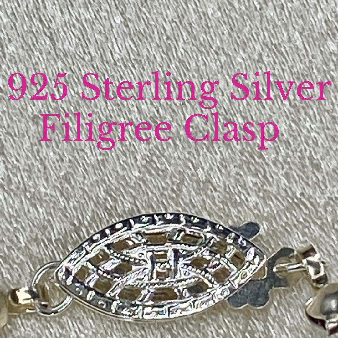 925 Sterling Silver Clasp For Handmade Gemstone Jewelry
