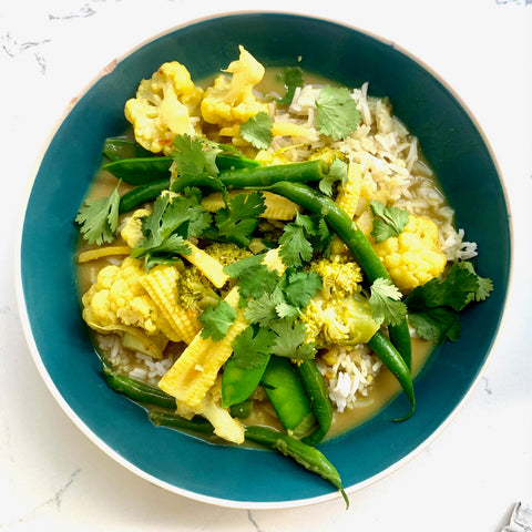 south indian curry midweek meal idea