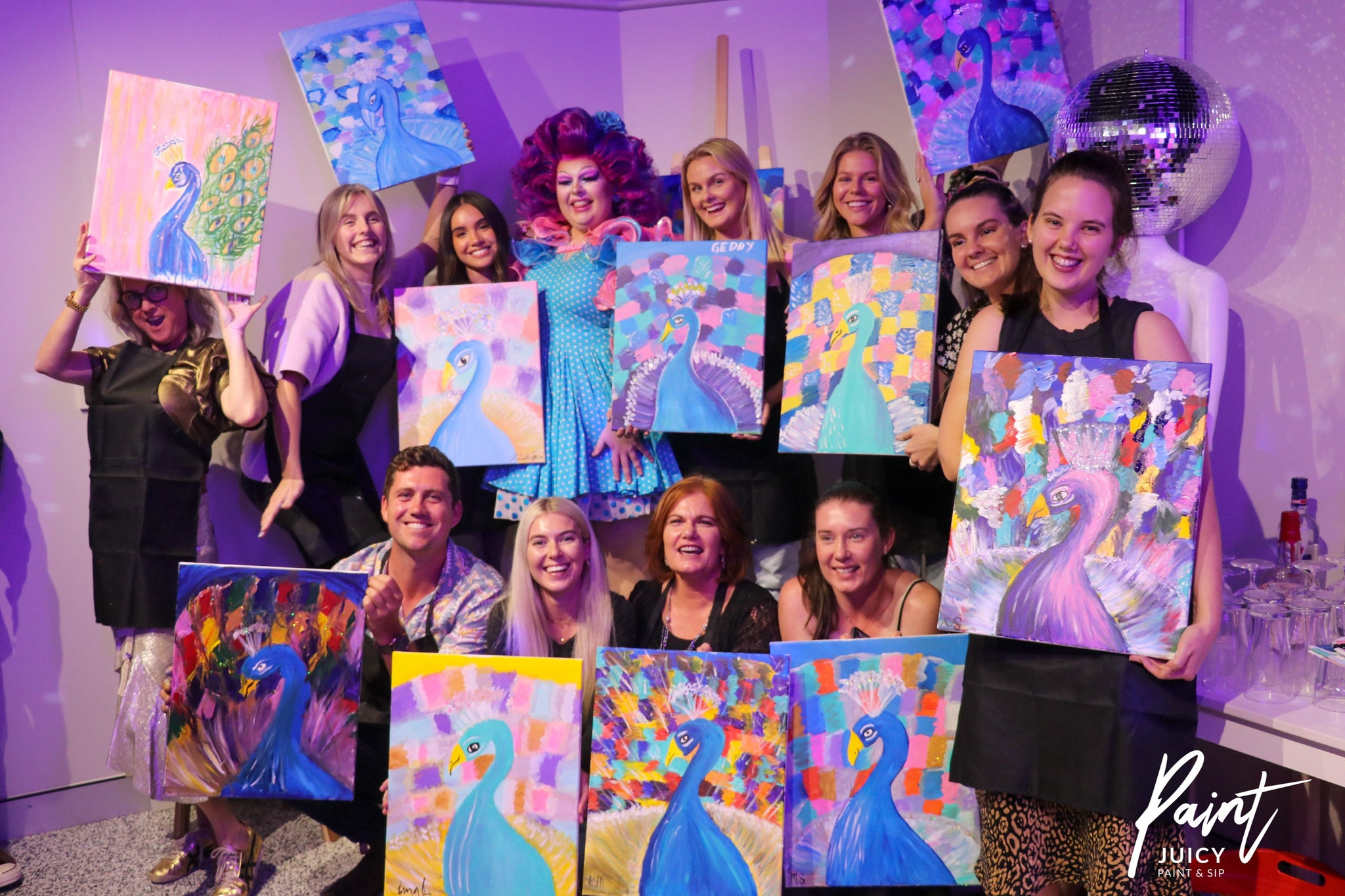 Paint Juicy Paint and Sip Gold Coast