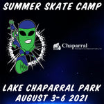 Alien In-Line 2021 Lake Chaparral Summer Skate Camp