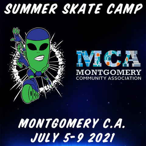 Alien In-Line 2021 Montgomery Summer Skate Camp