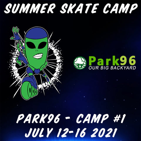 Alien In-Line 2021 Park96 Summer Skate Camp #1
