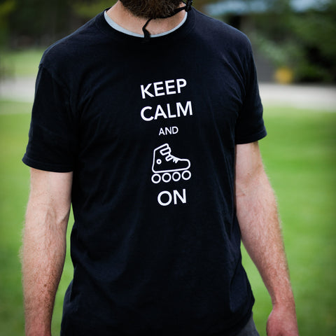 Keep Calm and Skate On Tee (M)