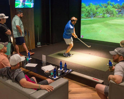 When It Rains on HHI: Play Indoor Golf!